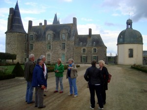 Vitré au Chateau des Rochers
