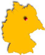 localisation de Helmstedt en Allemagne