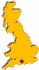 Localisation de Lymington en Grande Bretagne