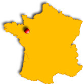 Localisation de Vitré France