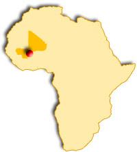 Djenné au Mali, ville jumelle de Vitré