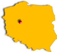Localisation de Sroda en Pologne